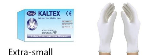 Kaltex Examination Extra-samll Gloves