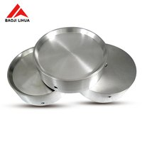 Pure nickel Round disc sputtering Arc target for PVD