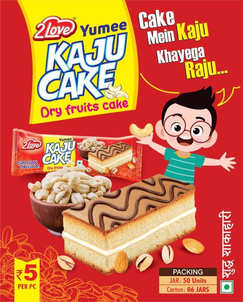 Kaju yummy Cake