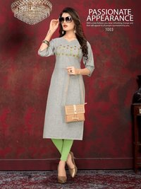 Disney Banwery Handloom Cotton Casual Kurti