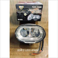 20W 2 LED Lens
