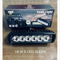 18W 6 LED Sleek