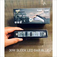 30W Sleek LED Bar Blue