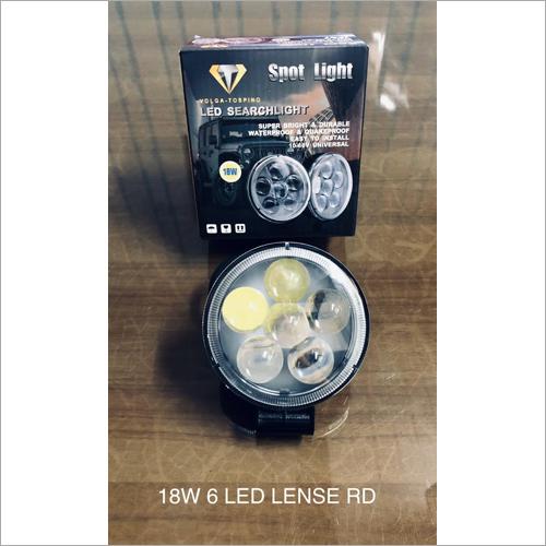 18 W 6 LED Lens Rd