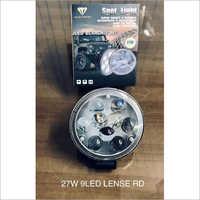 27W 9 LED Lense RD