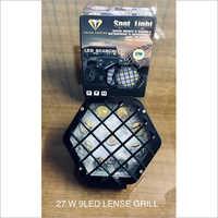 27W 9 LED Lense Grill
