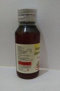 PARACETAMOL 250 MG + PHENYLEPHRINE 5 MG + CHLORPHENIRAMINE 2 MG SYRUP