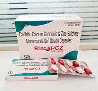 Calcitrol+ Calcium Carbonate & Zinc Sulphate Soft Gelatin Capsules