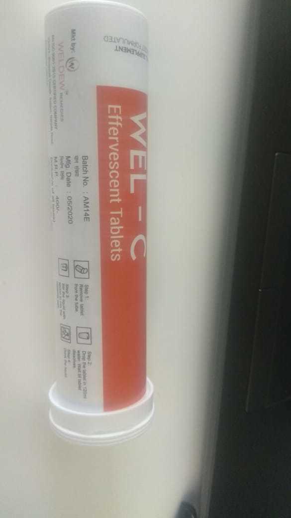 Vitamin C Effervasent Tablet