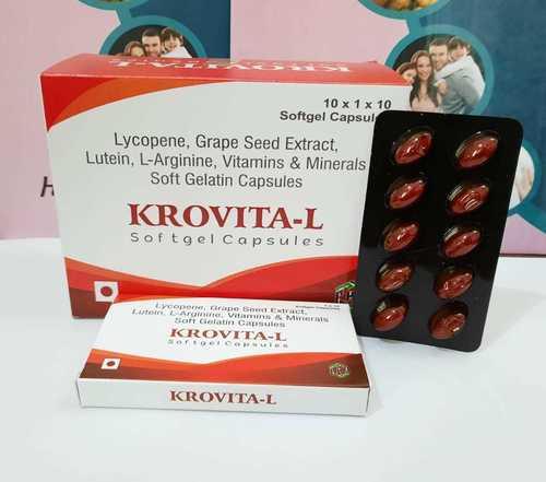 Lycopene+grape Seed Extract+lutein+l-arginine+vitamins & Minerals Soft Gelatin Capsules