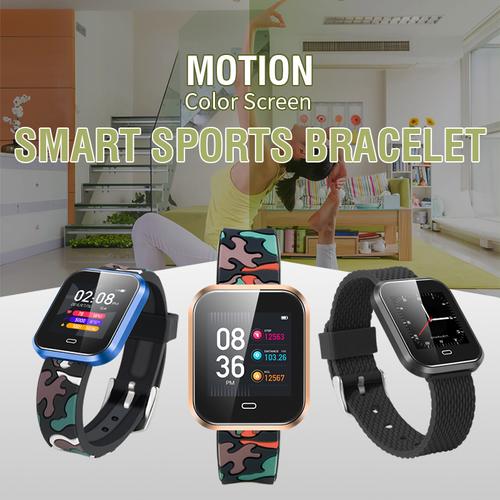Smart Fitness Bracelet Heart Rate Monitor Tracker Bluetooth Smartphone Sku CD16