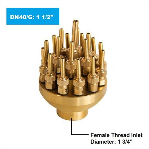 3 Tier Adjustable Fountain Nozzle