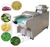 Ginger Cutting And Slicing Machine