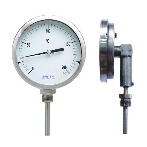 Bottom Mounted Bimetal Thermometer