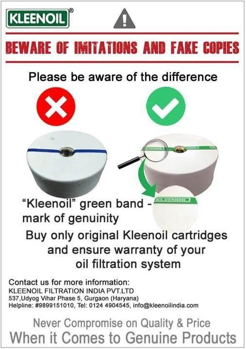 Original Kleenoil Filter Cartridge