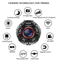 A Wearable Magnetic Waterproof Drop-Resistant Dust-Proof Sports Camera SKU G600
