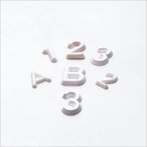 Plastic Pattern Letters