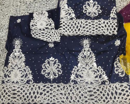Special Occasion Raw Taffeta George rhinestone Beaded Traditional Wedding fabric