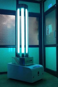 UV-C Light Disinfection Robot