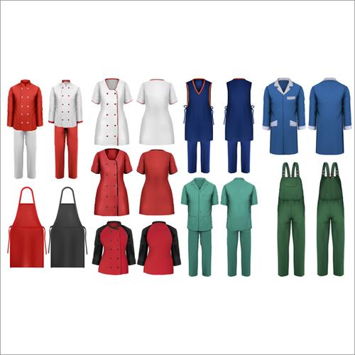 Hospitals, Hotels & Factory Uniforms
