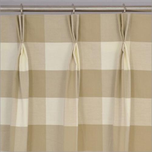 Single To Triple Pleats Plus  Curtains
