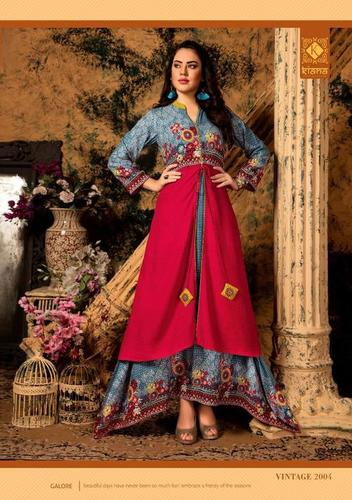 Double Layered Gown Type Kurta Leading Suppliers