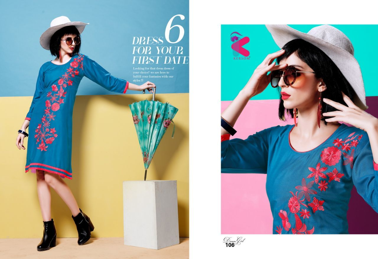 Dream Girl Kersom Kurti Supplier Wholesalers