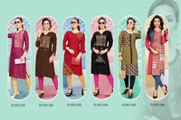 Dream Girl Vol-2 Veefab India Rayon Print Kurti