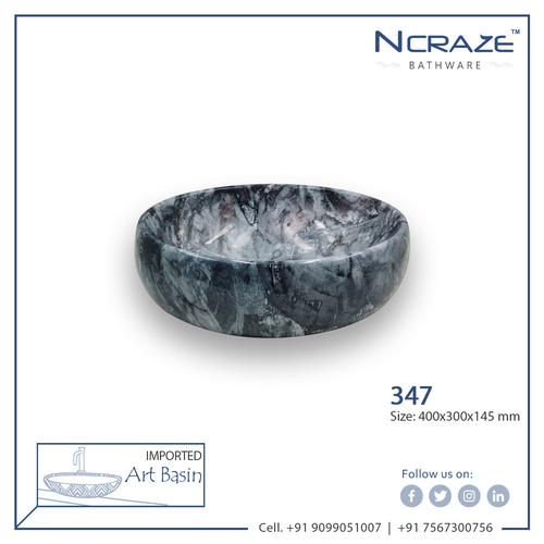 Dark Grey Imported Wash Basin
