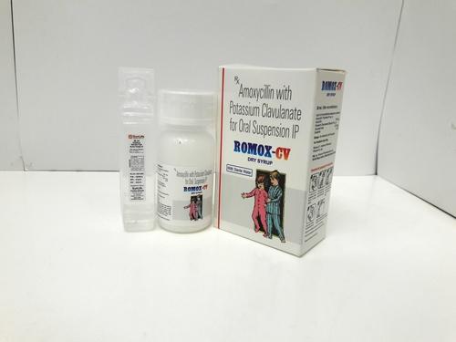 Amoxicillin  & Clavulanic Acid DRY SYP