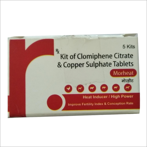 Kit Of Clomiphene Citrate And Copper Sulphate Tablets