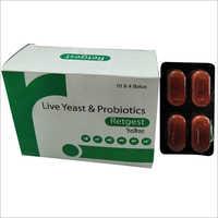 Live Yeast & Probiotics