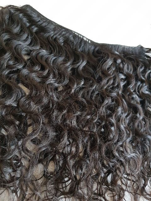 Raw Virgin Curly human hair