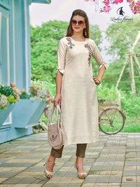 Dzire Ladies Flavour Silk Rayon Kurti