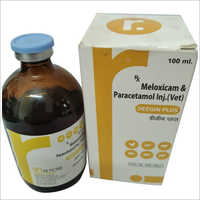 100 ml Meloxicam & Peracetamol Injection