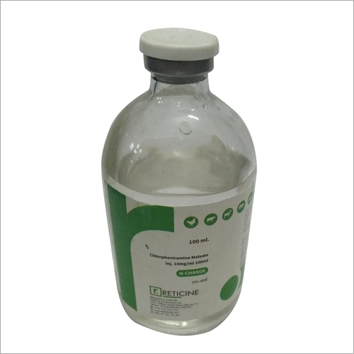 100 ML Chlorpheniramine Malete Injection