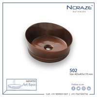 Chocolate Wash Basin