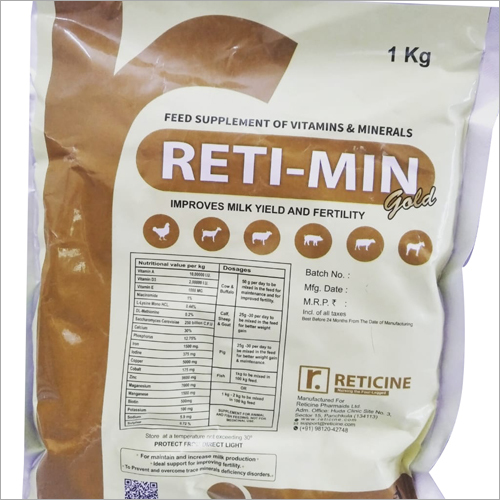 CHELATED MINERAL MIXTURE 1 Kg Feed Supplement Of Vitamins