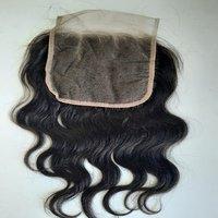 Natural Deep Wavy Closure,Brazilian lace closure