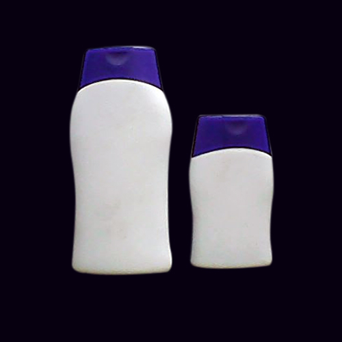 100 ml & 200 ml Alfa Bottle with Oval Flip Top Cap