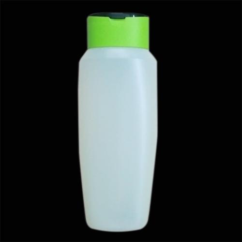 200 ml Shampoo Bottle with 2 Pieces Flip Top Cap