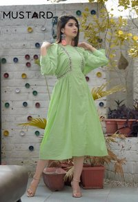 Elegance Manjaree Cotton Embroidery Kurti Catalog