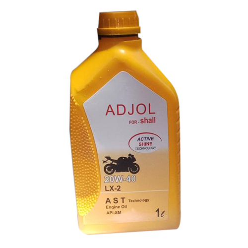 20W-40 LX-2 ADJOL for Shall Motorcycle Engine Oil