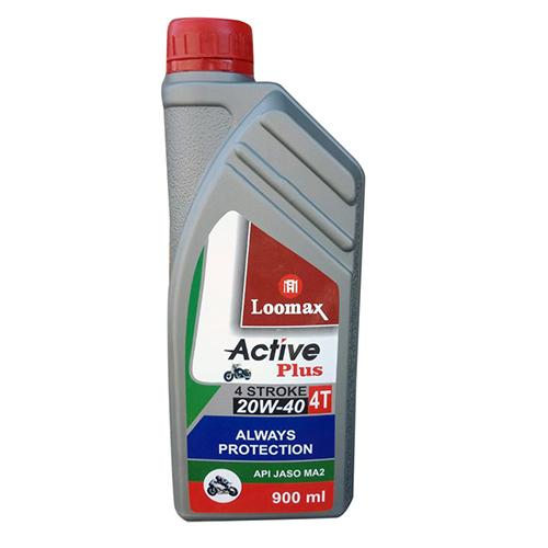 20W-40 Active Plus 4T Motorcylce Engine Oil