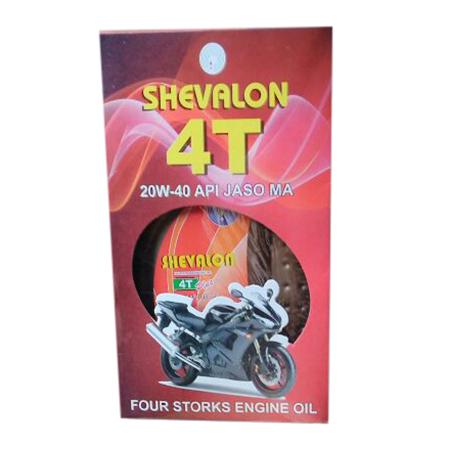 20W-40 Shevalon 4T Four Storks Engine Oil