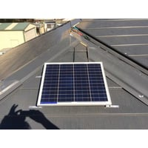 Indoor Led Solar Light with split solar panel