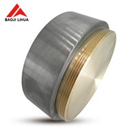 99.95% Pure Molybdenum round sputtering target for PVD