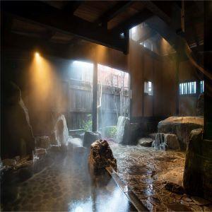 Japanese spring water & distilled rose water skin care