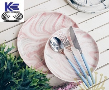 Stainless Steel Cutlery with Colorfull Handle