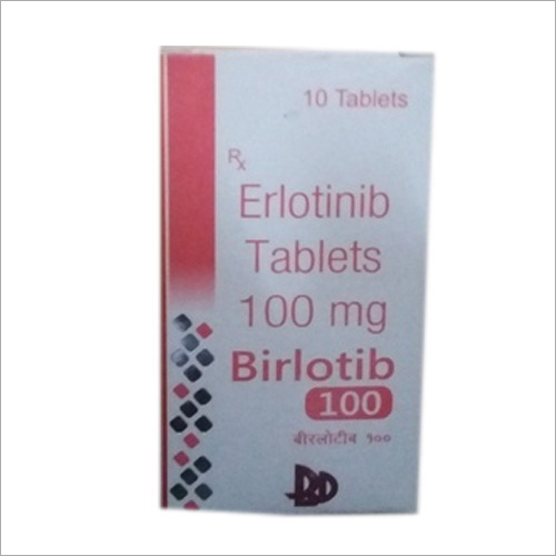 100 Mg Erlotinib Tablets